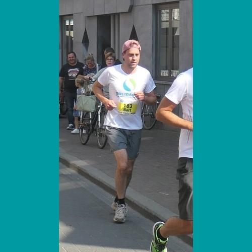 """Bart: """"Samen lopen voor Solidagro, daar gaan we voor!"""""""