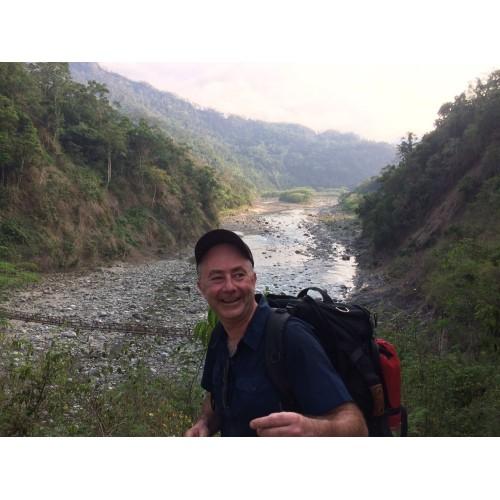 """Koen:""""Op ervaringsreis in de Filipijnen bezochten we verschillende schitterende projecten die Solidagro ondersteunt. Hier loop ik graag me de longen voor uit het lijf."""""""