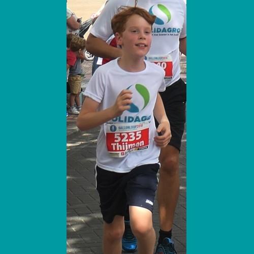 """Thijmen: """"Ik loop graag, dus ook voor Solidagro!"""""""