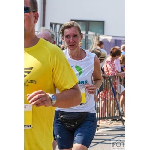 "Ann: ""A runner must run with dreams in his heart""."